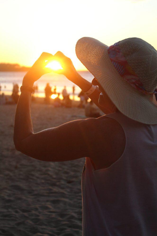 me on the beach at Tamarindo