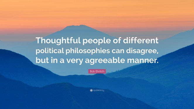 Disagree agreeablly