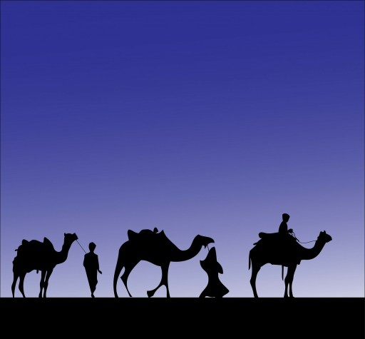 Epiphany: The three wise men