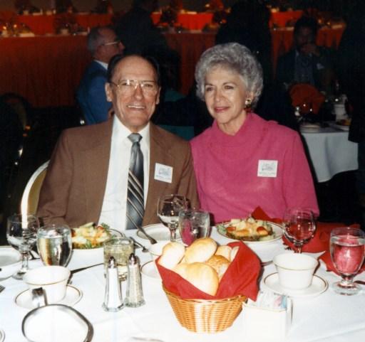 Flippo & Neeca at a CALLERLAB banquet
