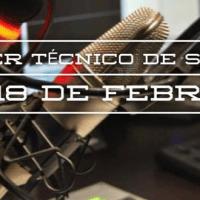 [Taller] Introducción a técnico de sonido para radio