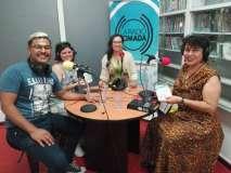 Integrantes del Taller Literario Palabra y Obra en JuvenizArte.