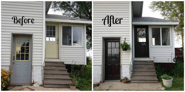 doors before and after