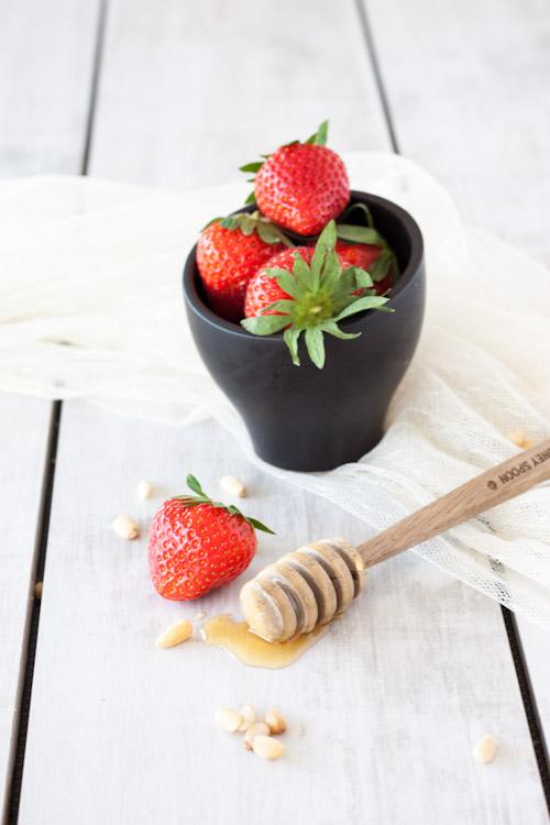 tartelette fraise miel pignon4