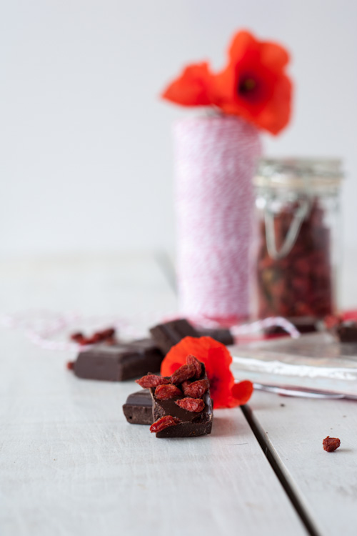 bagel chocolat baies goji
