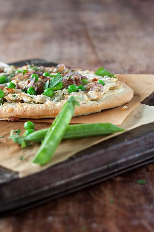 pizza petits pois, ricotta, ravioles du royans 3