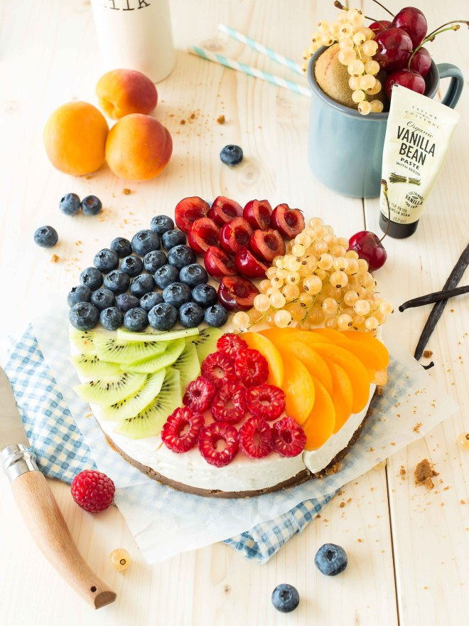cheese cake multi fruits