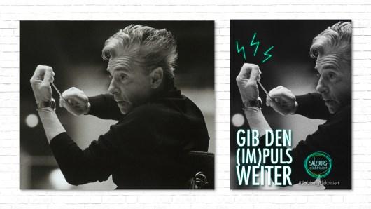 Herbert von Karajan Plakat Plakatserie