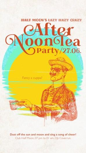 Club Halfmoon Afternon Tea Teaparty Beach Summer |larafinesse