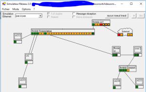 V2 en mode simulation