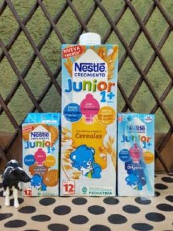 Nestlé, leche con cereales, leche con galletas, testamus, nestle crecimiento, leche infantil, leche de vaca