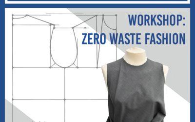 """Taller de moda sostenible """"Zero Waste"""" en La Ranilla Espacio Cultural el 16 y 17 de febrero"""