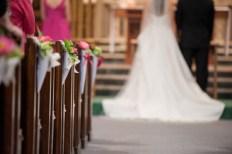 wedding-pew-cone-diy