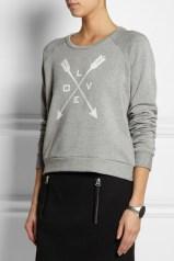 Sweatshirt Capitol Couture, no Net-a-Porter - coleção inspirada nos Hunger Games