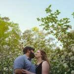 Duke Gardens, NC E-session | Kara + Steven