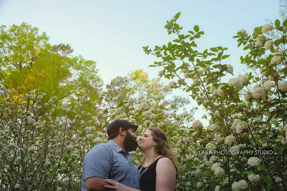 Duke Gardens, NC E-session | Kara + Steven