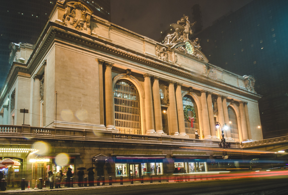 NYC Night Time | Grand Central Station by Lara Photography