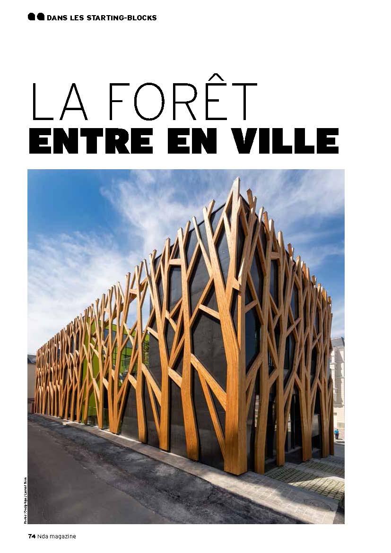 11.2015 Publication dans Nda magazine # 23 : La forêt entre en ville