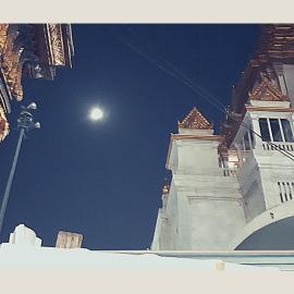 Eclissi lunare in gemelli