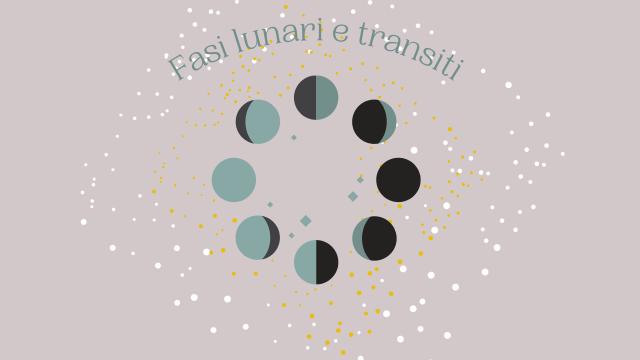 Fasi lunari e transiti