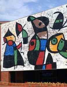 Joan Miró outdoor artwork