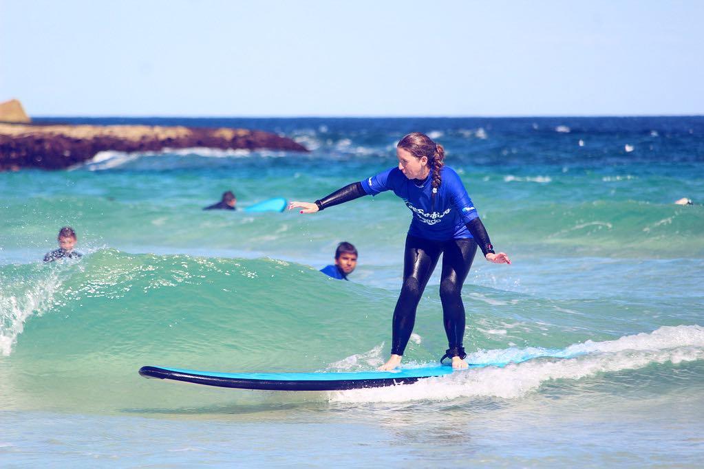 LaraLain surfing Bondi Beach -2
