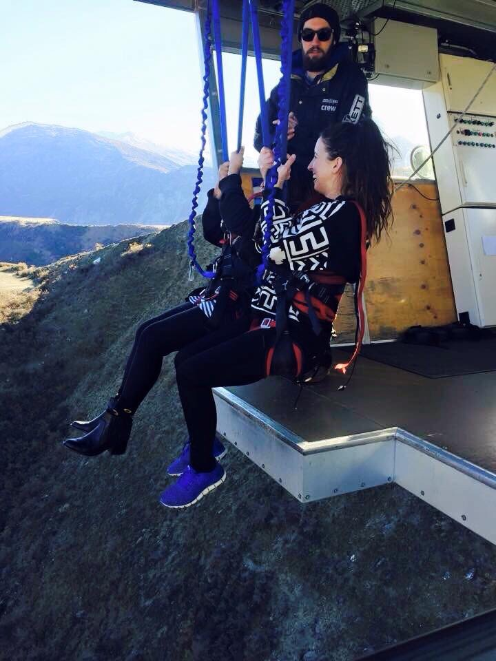 Lara Lain larasstory Nevis Swing Queenstown