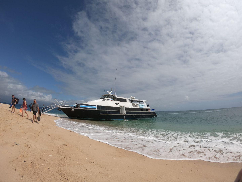 Lara Lain larasstory blog Frankland Islands boat
