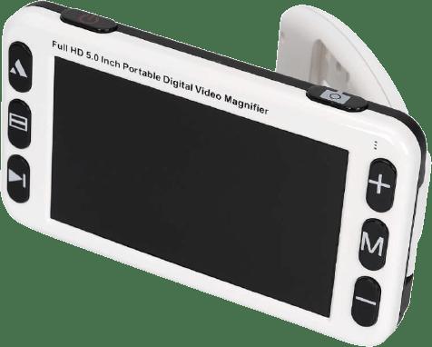lupa eletrônica portátil uemax de 5 polegadas