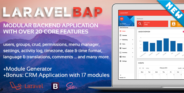 Laravel BAP is Here. Modular Backend Application Platform