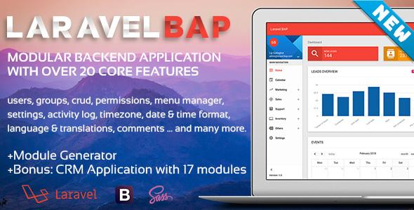 Laravel BAP is Here. Modular Backend Application Platform