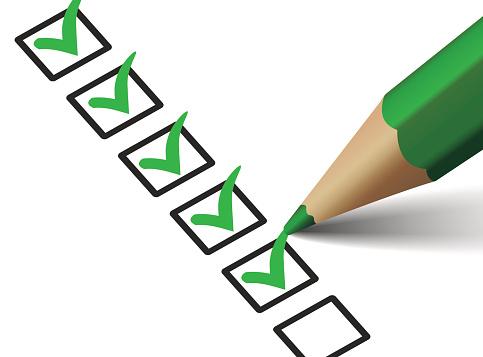 Resultado de imagen de checklist