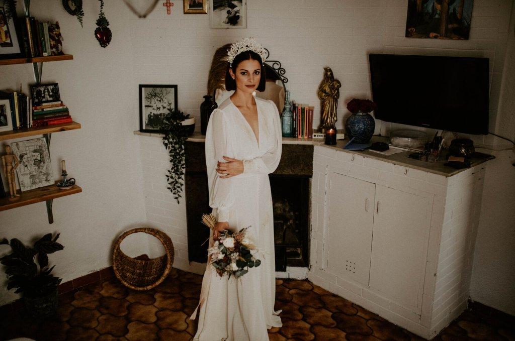 Novia-bohemia-vestido-vintage