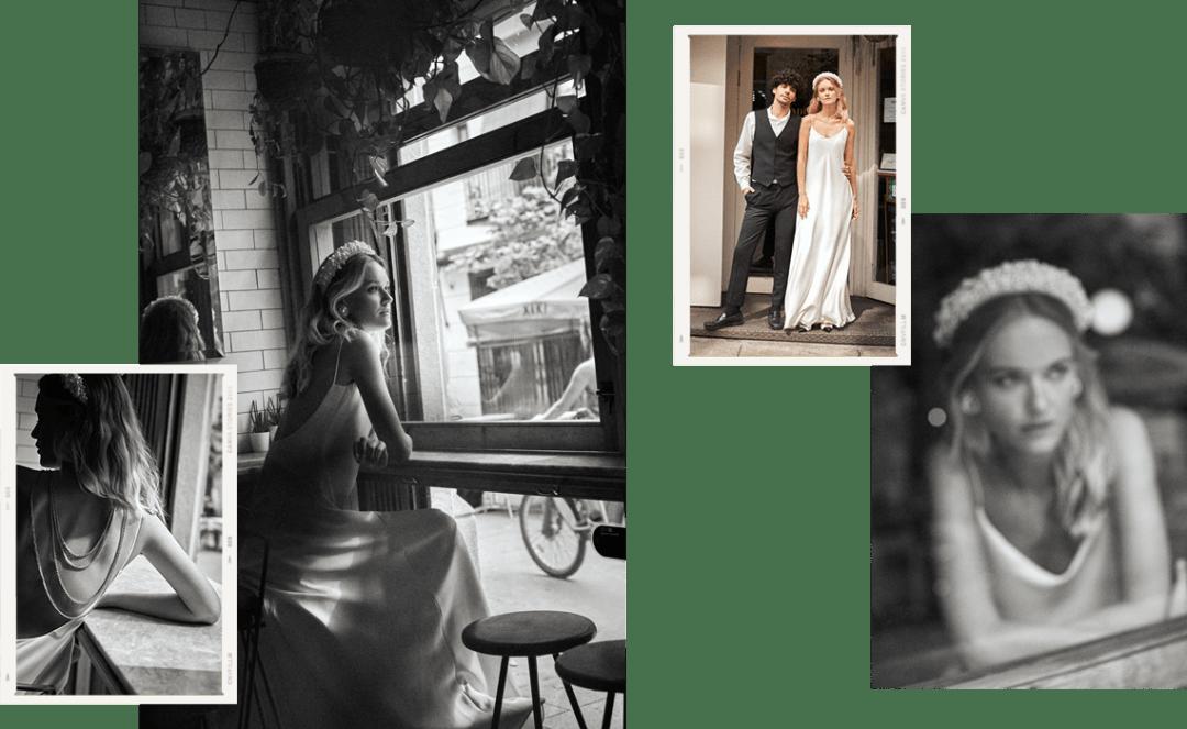 Vintage wedding slipdress