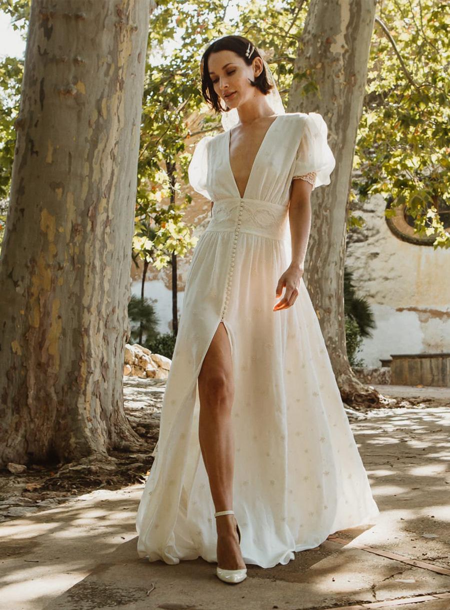 Vintage wedding dress Belvedere collection