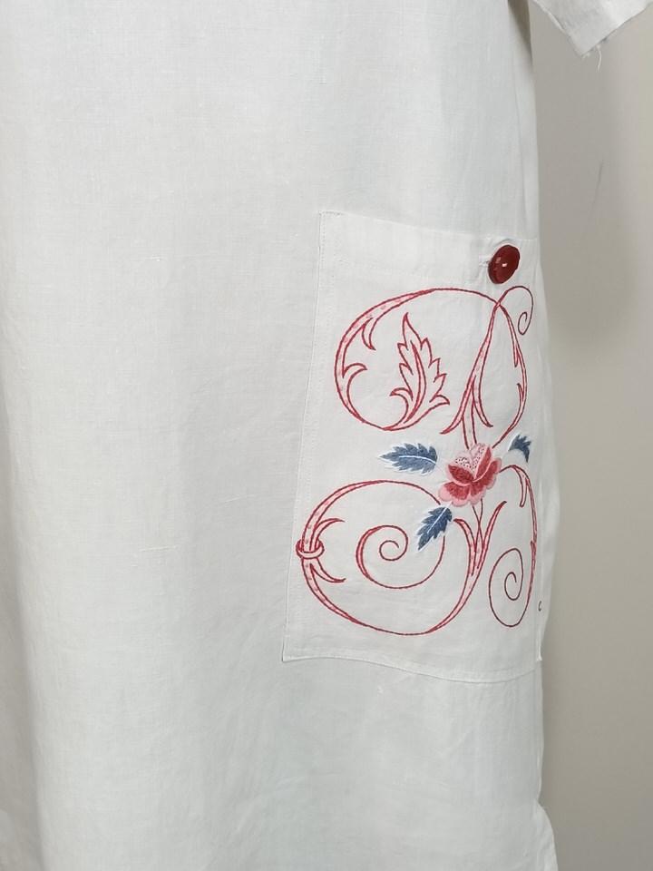 vestido-blanco-lino-manga-corta