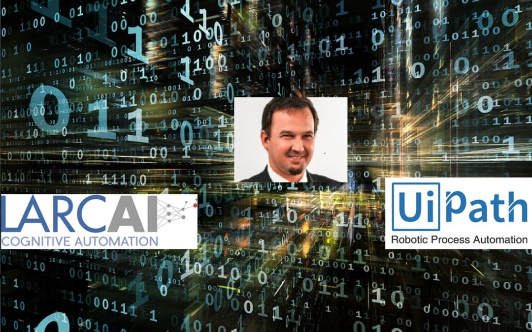 Why did LarcAI pick UIPath as Robotic Process Automation (RPA) Platform of preference?