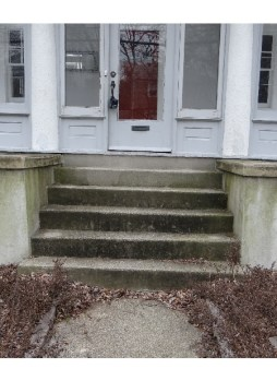 Front Steps of a home.