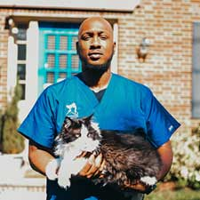Larchmont team member Will, Larchmont Animal Hospital Vet tech