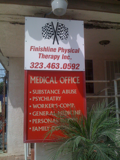 Finishline Physical Therapy in Larchmont Village