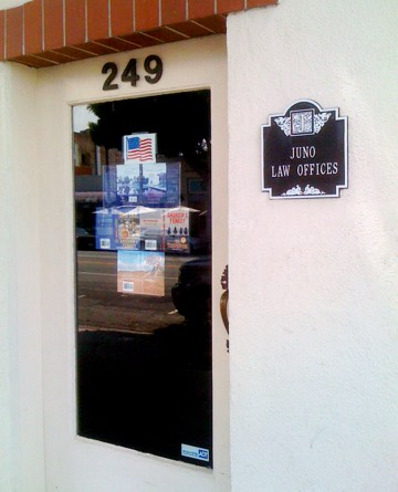 Juno Law Offices in Larchmont Village, LA