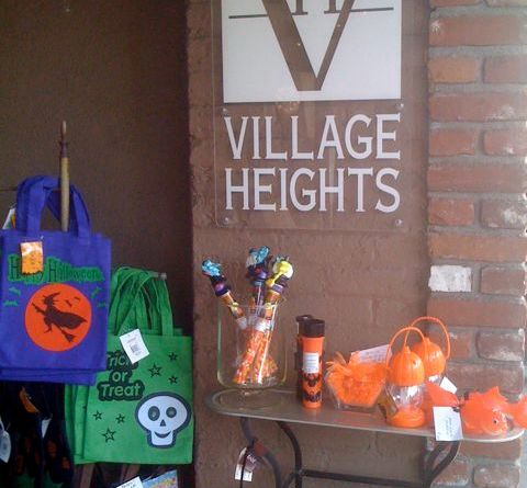 Halloween Stuff at Village Heights in Larchmont