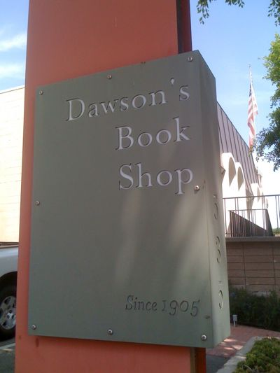 Dawson's Book Shop in Larchmont Village, Los Angeles