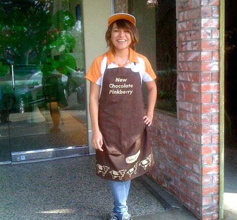 Cynthia Cervantes of Pinkberry in Larchmont