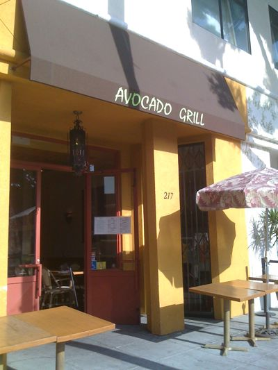 Avocado Grill in Larchmont Village, Los Angeles