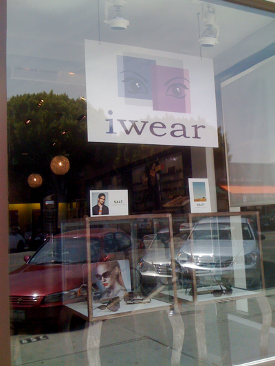 iWear in Larchmont Village, Los Angeles