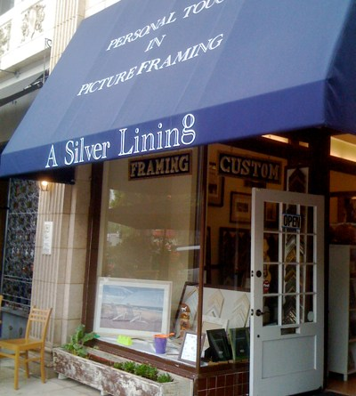 A Sliver Lining - Picture Framing in Los Angeles