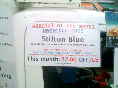 Cheese of the Month: Stilton Blue