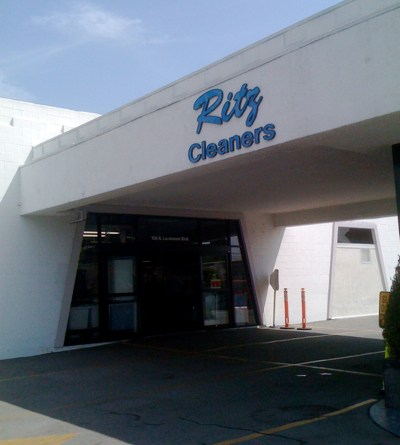Ritz Cleaners in Larchmont Village, Los Angeles