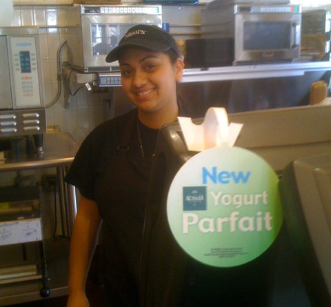 Karla at Noah's Bagels in Larchmont Village